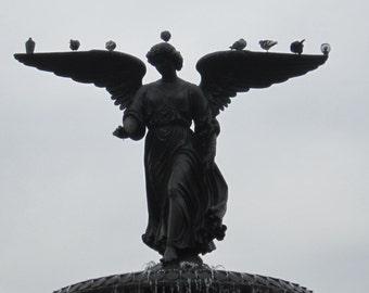 Central Park Angel Fountain