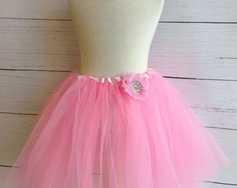 Light Pink Girls Tutu Set