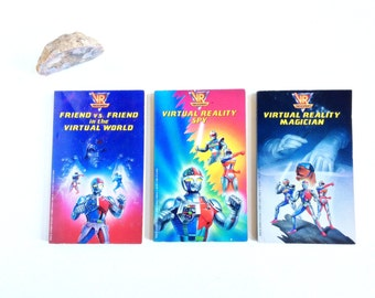 Vintage VR Troopers Young Adult Novels