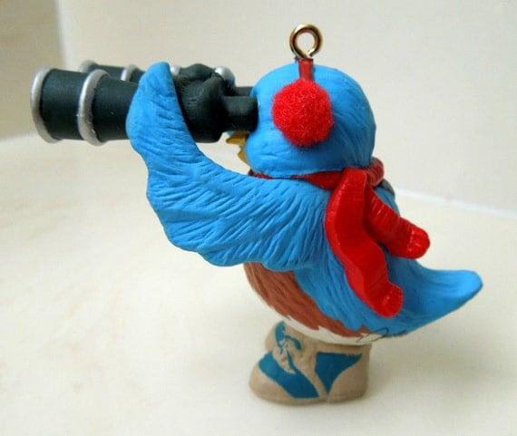 COUPON SALE Hallmark Keepsake Ornament 1993 Bird Watcher