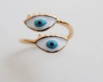 Blue Eyes - Ring