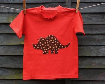 Dinosaur Triceratops T-shirt