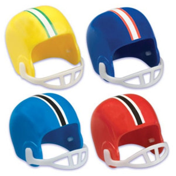 football helmet cupcake cake