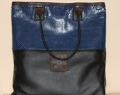 Snakeskin Shopper Bag