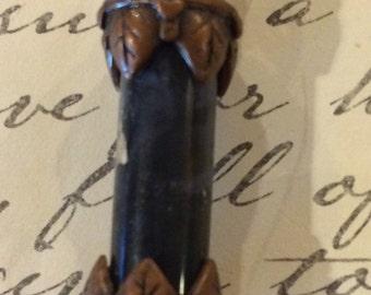 Steampunk Vial Necklace (Bronze)