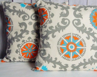 SALE Pillow Covers. Accent Pillow. Fall Pillows. Fall Decor. Fall Pillow Covers. Orange Pillow. Tan Pillow