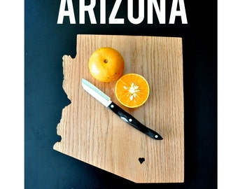 ARIZONA State Cutting Board.