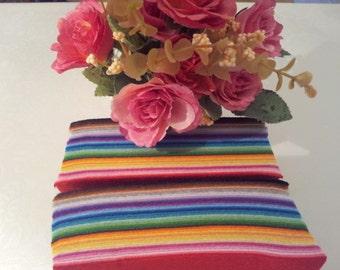 """40 pc Lot Felt Fabric Squares sheets craft DIY mixed color 30 X 30 cm / 11.8"""" X 11.8"""""""