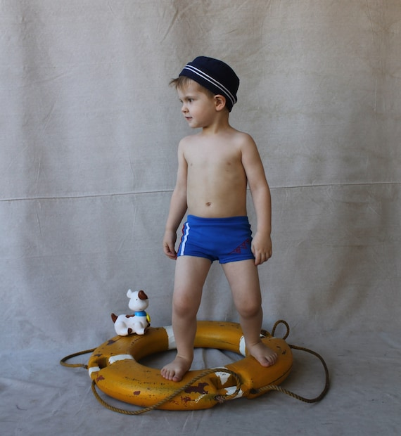 Vintage Blue Knit Speedo Boy Swim Trunks Swim by Twinklestarmoonspeedo boy