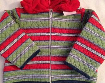 J2    boys handmade size 2-3 quilted