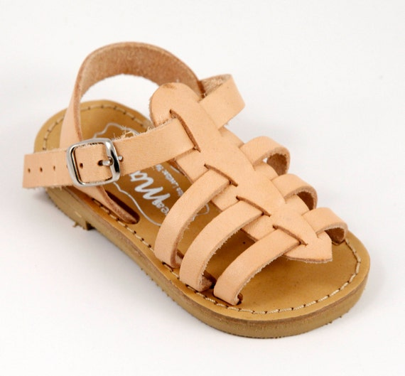 Baby Leather Hermes Sandals with Bio leather by ...