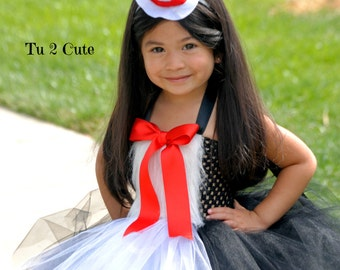 Miss Cat In The Hat Tutu Dress