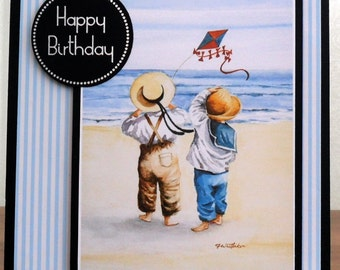 C1576 - Let's go fly a kite - Happy Birthday