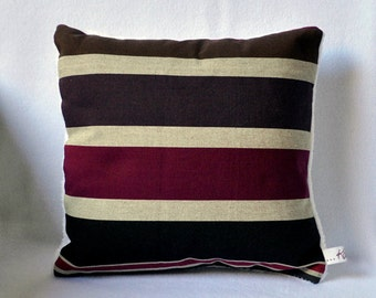 Square pillow striped ** COLD TIME 4 *.