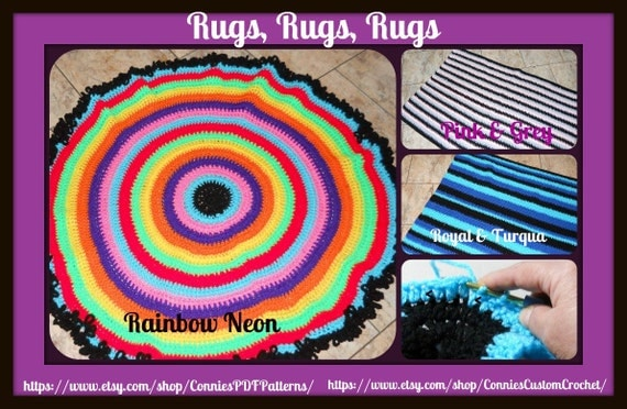 Rugs, Rugs, Rugs 3-Pattern eBook