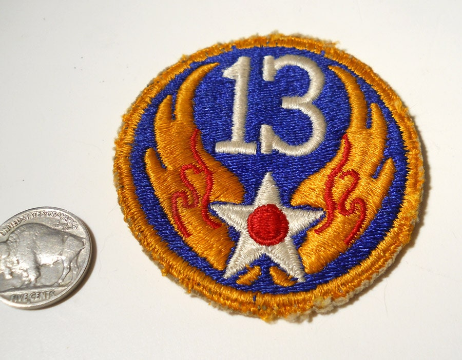 Old air force unit patches