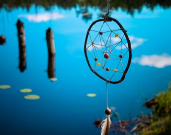"Tribal totem Forest dreamcatcher Nature dream catcher ""Asymmetry"""