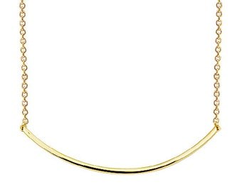 Bow 14k Solid Gold Necklace Smile 14k Solid Gold Necklace Best Price