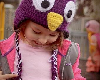 Crochet Birdie Hat