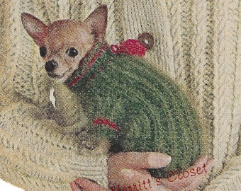 Knitting Pattern For Teacup Dog : Free Dog Sweater Patterns For Teacup Yorkie To Download ...