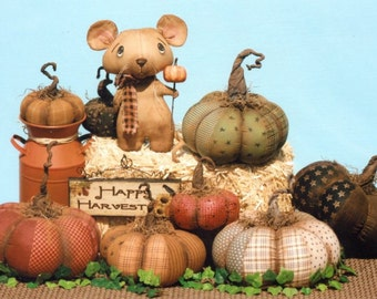 Prim Pumpkins and a Dirty Little Mouse