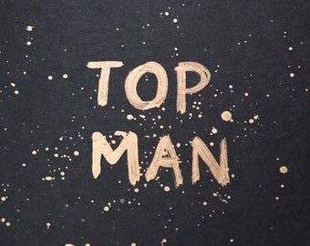 "EKone - ""Top Man"", Fathers Day Card"