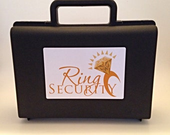 Gold Ring Security Briefcase for Ring Bearer