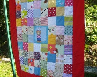 Patchwork quilt baby unisex
