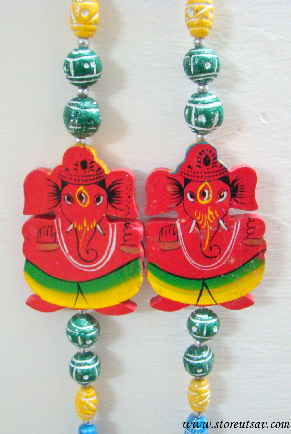 Wall hanging home decor indian handicraft good luck by for Good luck home decor