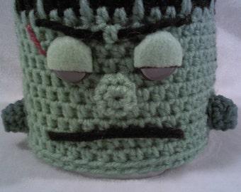 toilet paper cover,bathroom,decor,crochet ,holloween, monster, horror