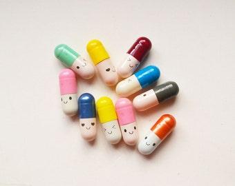 Secret Message Pills - Set of 10
