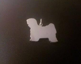 Tibetan Terrier Sterling Silver pendant