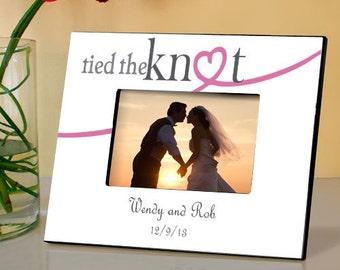 Knot Wedding Frame - 4x6 Photo