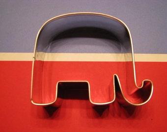 "Republican GOP Elephant 3"" Metal Cookie Cutter"