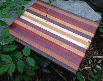 Handmade Exotic Wood Cutting Board ***FREE SHIPPING***