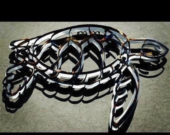 Sea Turtle Metal Art Wall Decor