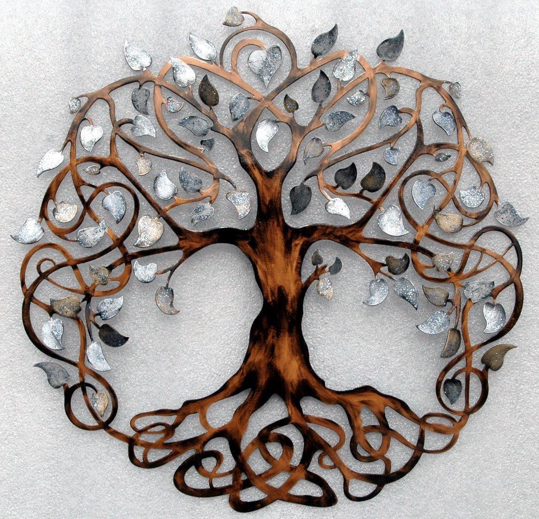 Tree of Life Infinity Tree Wall Decor Wall by ...