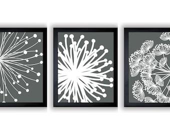 dandelion set etsy. Black Bedroom Furniture Sets. Home Design Ideas