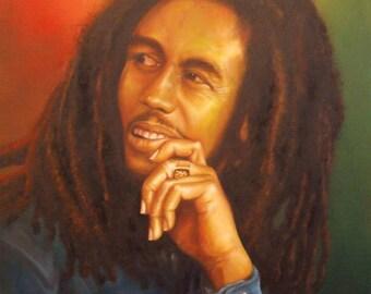 Bob Marley fine art giclee print