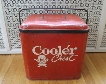1950s Vintage Eskimo Cooler Chest