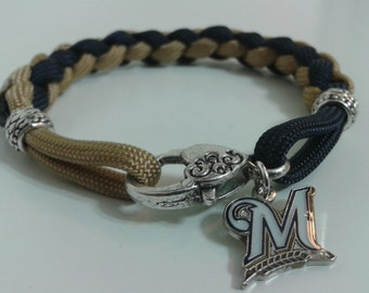Milwaukee Brewers Paracord bracelet