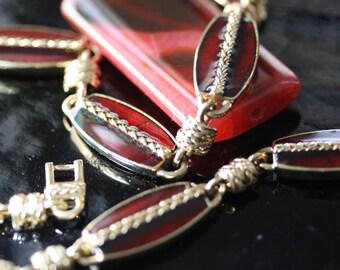 Impeccable vintage Monet necklace
