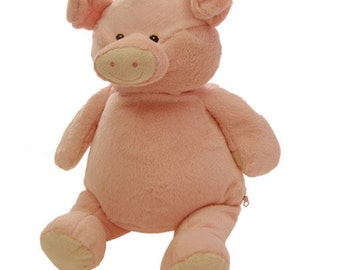 Personalized Stuffed Animal-Pig