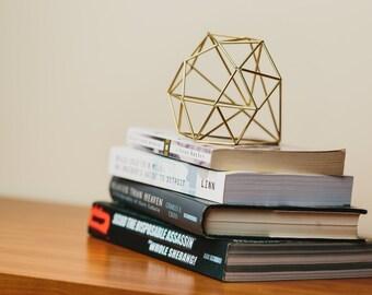 Himmeli Figure 2 || The Geometric Diamond Sculpture || Modern Minimalist Geometric Art