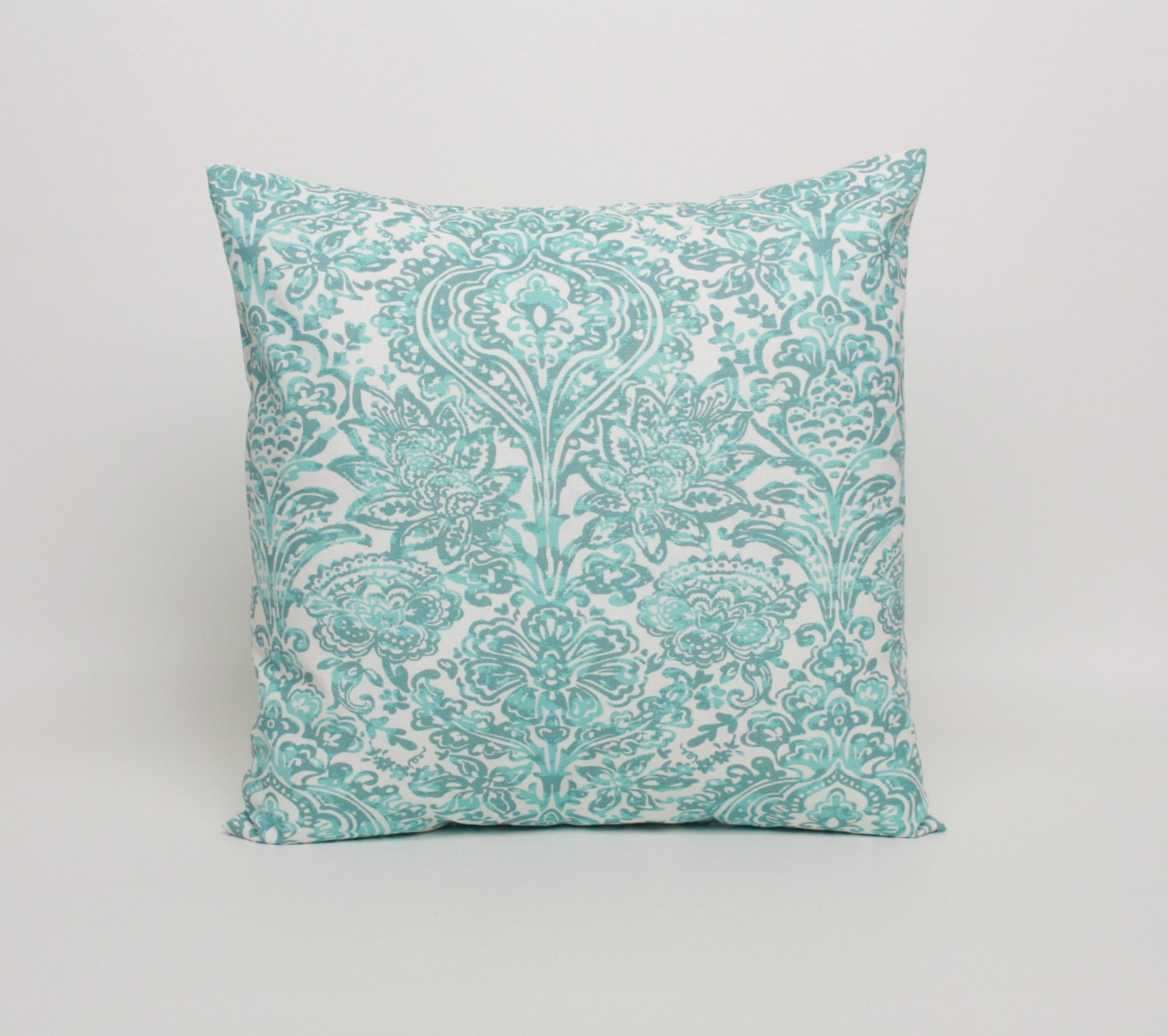 Blue Throw Pillow 20x20 Spa Blue Decorative Pillow Covers