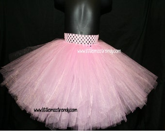 Pink Tutu Skirts, Children's Tutu Skirts, Pink Newborn to 6T Tutus, Pink Tutu, Girls Pink Tutu, Pink Photo Prop Tutu, Full Pink Tutu