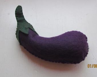 felt eggplant