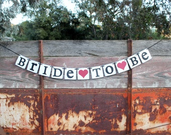 Wedding Shower Banner Bride To Be Rustic bridal shower banner  country bridal shower sign