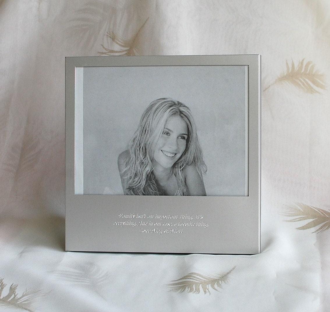 cadre photo 5 x 7 personnalis avec citation cadre photo. Black Bedroom Furniture Sets. Home Design Ideas