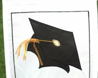 Graduation Cap Flag